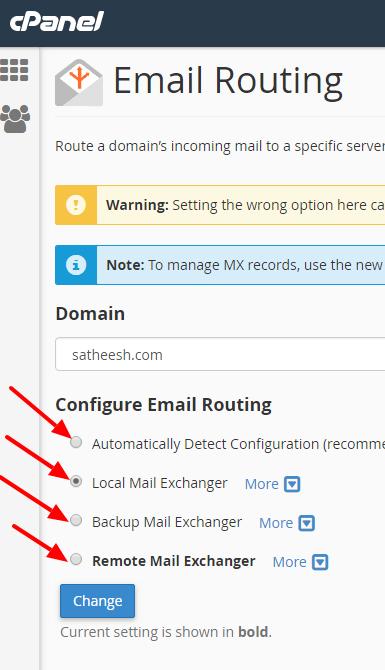 Remote Mail Exchange