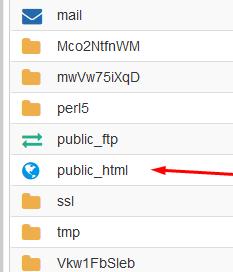 Linux Hosting Website Files