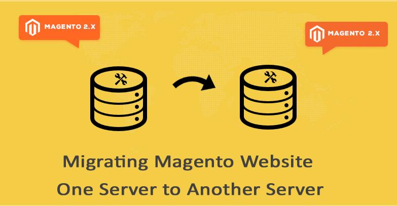 magento server migration