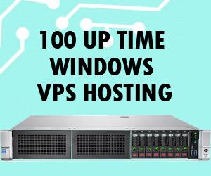 100% Up time Windows VPS Hosting