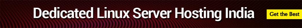 dedicated linux server hosting india