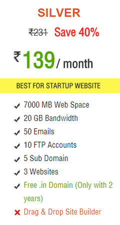 web space hosting